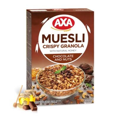 699免運瑞典AXA 巧克力堅果穀物麥片 375g