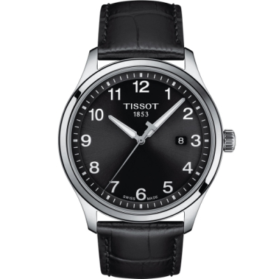 TISSOT天梭GENT XL CLASSIC經典大三針男錶(T1164101605700)