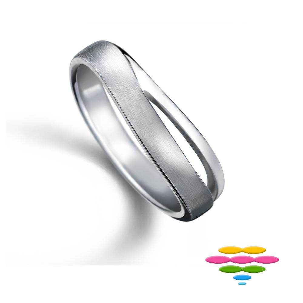 彩糖鑽工坊 925純銀戒指 銀戒 愛情心語系列 (純銀)