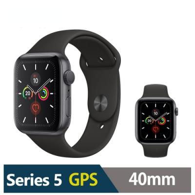 Apple Watch S5 40mm 鋁金屬錶殼配運動型錶帶(GPS)