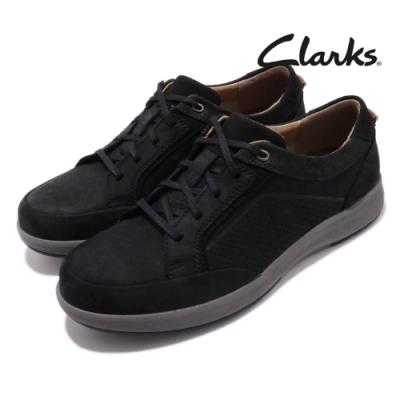 Clarks 休閒鞋 Un Trail Form 真皮 男鞋