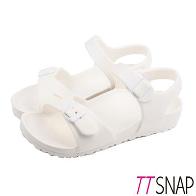 TTSNAP涼鞋-MIT輕量休閒舒適涼鞋 白
