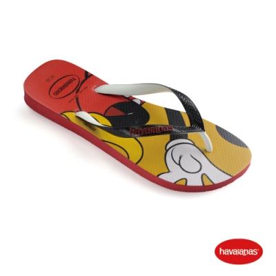 Havaianas  哈瓦仕 拖鞋 夾腳拖 巴西 童鞋 兒童 紅 4123500-1440K Kids Disney Stylish 迪士尼