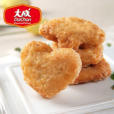 【大成-雞本享受】招牌酥脆勁嫩雞塊 *6包組(1kg/超值勁量包)