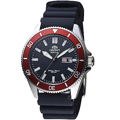 ORIENT東方錶 200米水鬼潛水錶(RA-AA0011B)-黑x紅圈