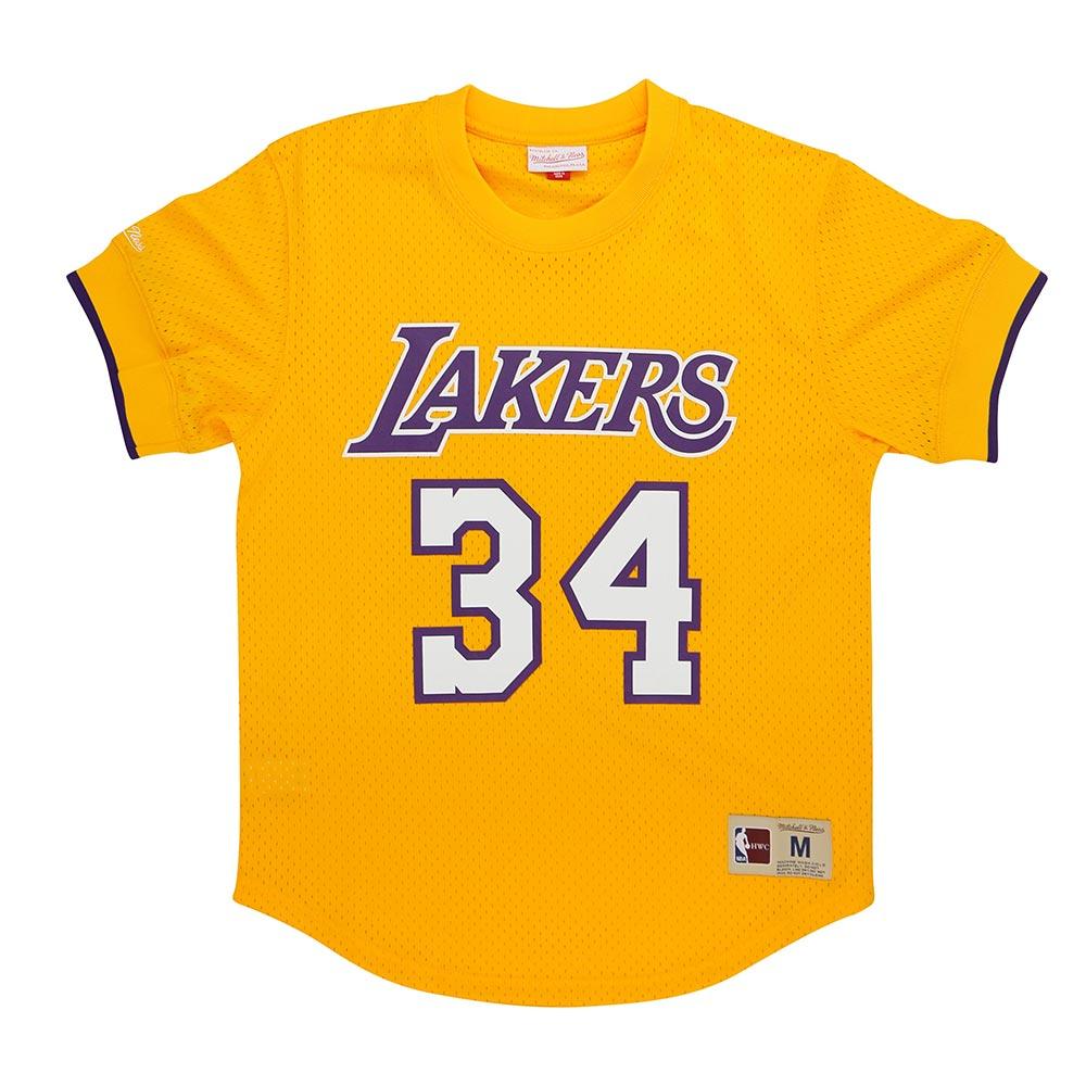 M&N NBA 球員號碼T恤 湖人隊 Shaquille O'Neal