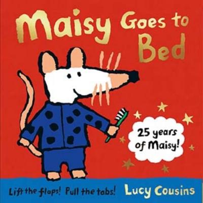 Maisy Goes To Bed 波波上床睡覺翻翻拉拉書(25週年紀念版)