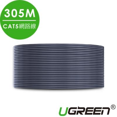 綠聯 CAT5網路線 灰色 美國福祿克品質認證 305M