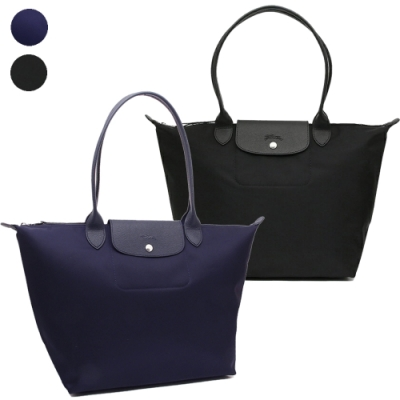 [時時樂限定] Longchamp Le Pliage NEO 新款厚尼龍長把肩背水餃包(大款)