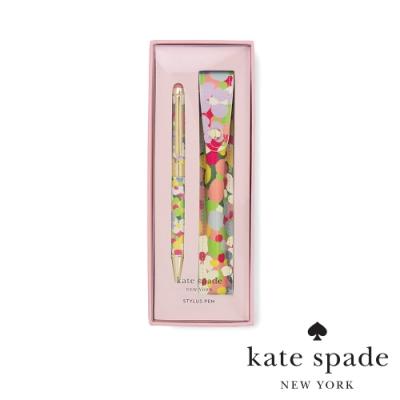 KATE SPADE 繁花點點小碎花精裝多功能筆/ 觸控筆/ 原子筆 Stylus Pen