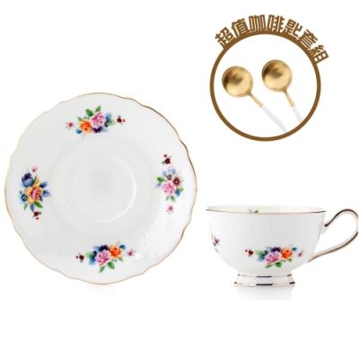 Royal Duke 骨瓷濃縮咖啡對杯-羅馬假期 (限量咖啡點心匙套組)