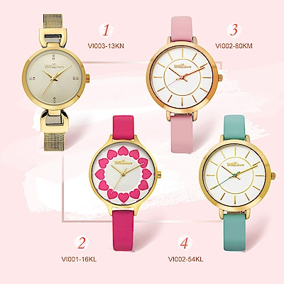 ViVi Fleurs專櫃熱銷經典錶款(多款選)