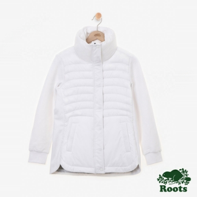 女裝Roots Journey 複合材質外套-白色