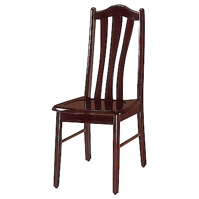 品家居 樂可莎餐椅2入組合(二色可選)-43x40x97cm免組