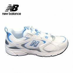 [New Balance]復古運動鞋_中性_白/淺藍色_ML408B-D楦