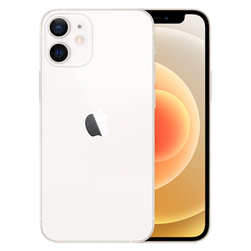 【福利品】Apple iPhone 12 mini  5.4吋 256G 5G手機_白 (未開通 僅外封膜破損)