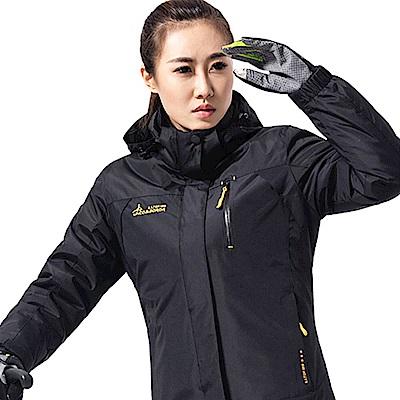 ANDYMAY2三穿戶外防風防雨機能外套-女款-黑