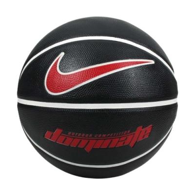 NIKE DOMINATE 8P 7號籃球-室內外 訓練 運動 N000116509507 黑紅白