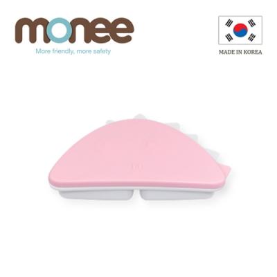 韓國monee 100%白金矽膠恐龍造型餐盒/3色