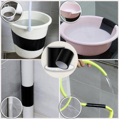 EZlife止漏強效防水膠帶寬度10cm+18CM(共2入)贈家事清潔手套