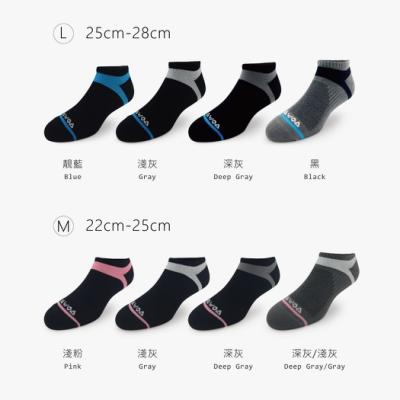 【WOAWOA】超人氣足弓壓力襪 (除臭襪 足弓襪 壓力襪 運動襪 機能襪 短襪 襪子 男襪 女襪)