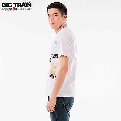 BigTrain西涼雄獅馬超潮流T-男-白色