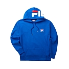 FILA #LINEA ITALIA 長袖連帽T恤-寶藍 1TET-5409-BU