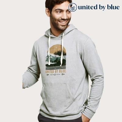 United by Blue 男起球長袖連帽上衣 101-107 灰色 (S-XL)
