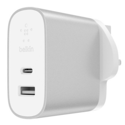 Belkin 原廠旅充頭 Boost Up CHARGE 27W Type-C + 12W USB
