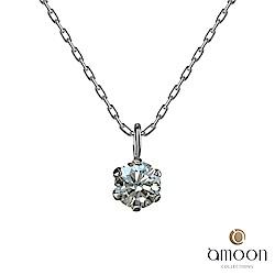 amoon 戀戀東京系列 曙光 10K金鑽石項鍊
