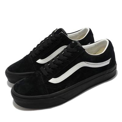 Vans 休閒鞋 Old Skool 板鞋 穿搭 女鞋 麂皮 基本款 復古 經典 防潑水 黑 白 VN0A4U3B18L