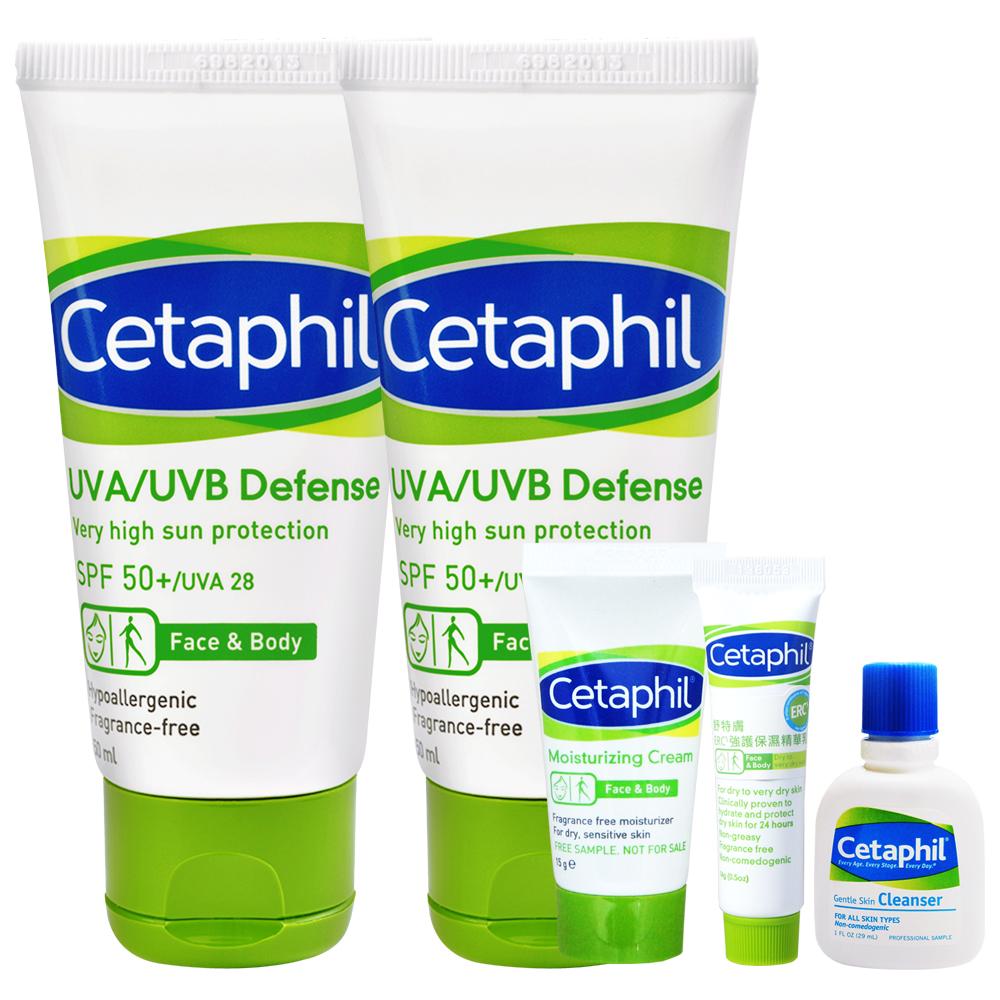 Cetaphil舒特膚  極緻全護低敏防曬霜50ml(2入特惠)