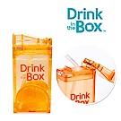 加拿大Drink in the box 兒童戶外方形吸管杯 235ml-水果橘