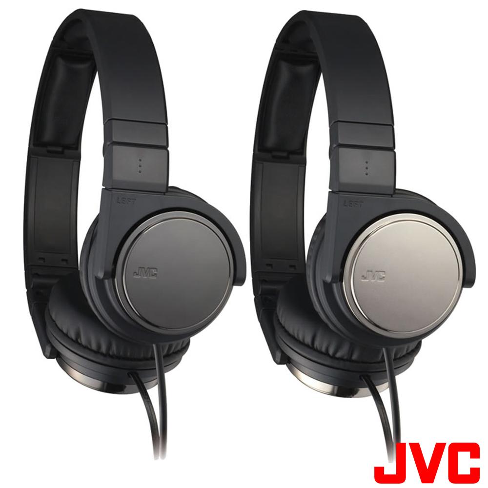 【JVC】高音質立體聲頭戴折疊式耳機 HA-S500