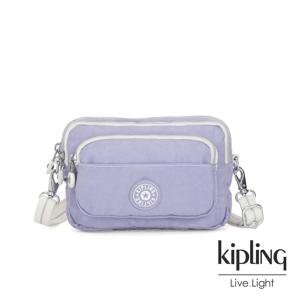 Kipling 法式丁香紫兩用腰間側背包-MULTIPLE