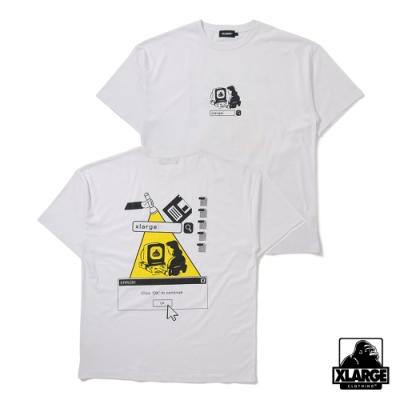 XLARGE  S/S TEE PUBERTY短袖T恤-白