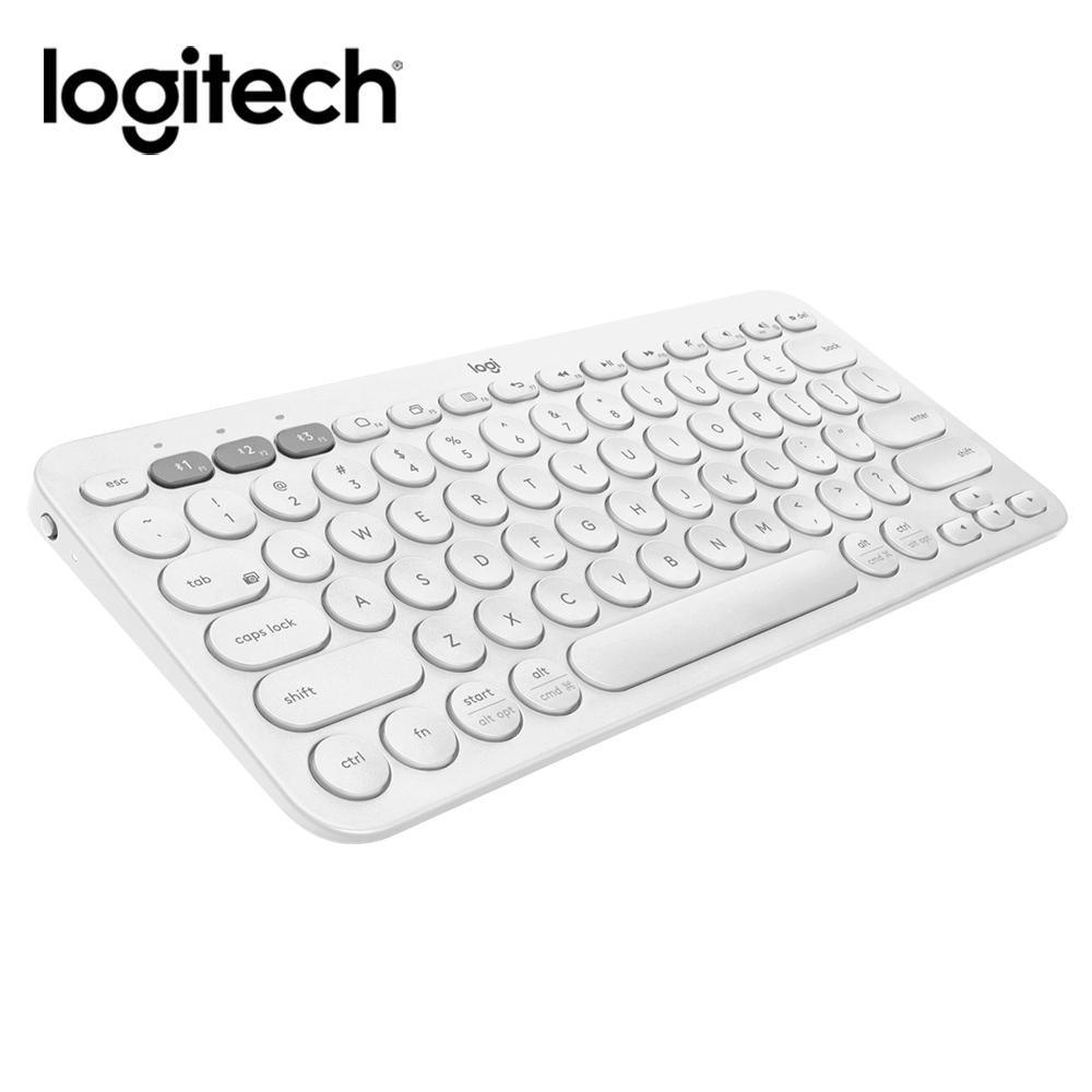 羅技 K380多工藍芽鍵盤(粉/白)