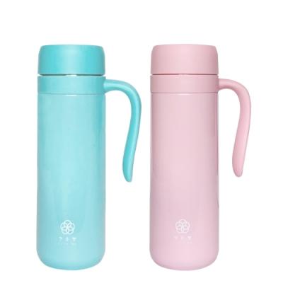 (買一送一)FUSHIMA富島 北歐風炫彩保溫瓶450ML(2色可選)