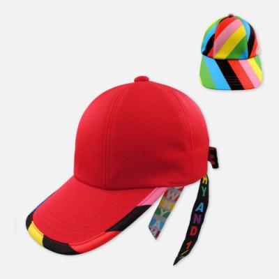 WHY AND 1/2 蝴蝶結綁帶棒球帽 多色可選
