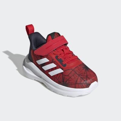 adidas MARVEL SPIDER-MAN FORTARUN 跑鞋 男童/女童 FV4266