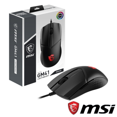 MSI Clutch GM41 LIGHTWEIGHT 電競滑鼠