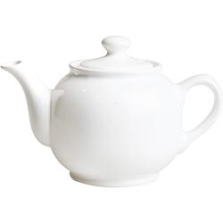 《EXCELSA》陶製茶壺(白1L)
