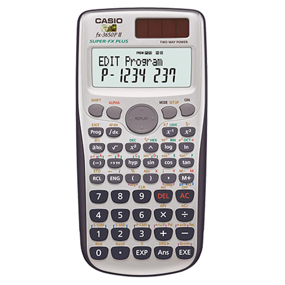 (團購10入組) CASIO卡西歐 新一代程式編輯型工程計算機 FX-3650PII