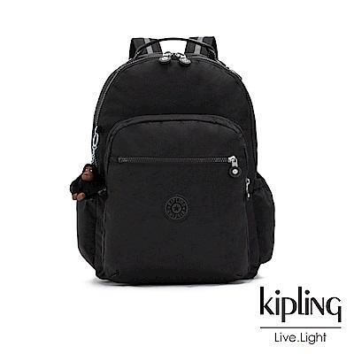 Kipling 質感黑機能手提後背包-SEOUL GO-ESSENTIAL系列