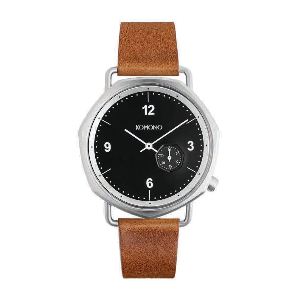 KOMONO Orson 腕錶-白蘭地/40mm