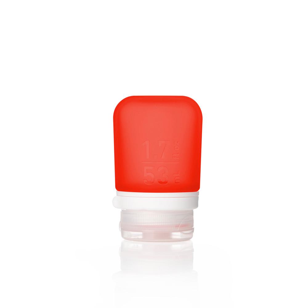 Humangear GoToob+ 旅行分裝瓶 (小) 50ml - 火鶴紅