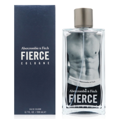 Abercrombie & Fitch FIERCE 肌肉男 男性古龍水 200ml