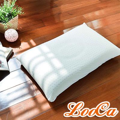 LooCa 舒鼾型機能天然乳膠舒眠枕(2入)