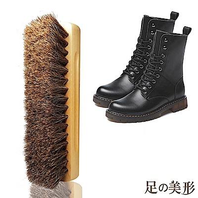 足的美形 原木清潔專用馬毛刷(1支)