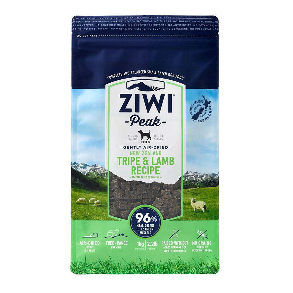 ZiwiPeak 巔峰 96%鮮肉狗糧 羊肚羊肉 1KG
